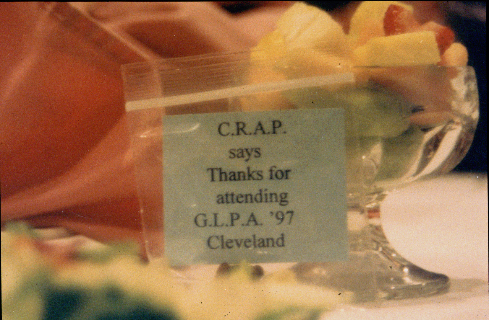 C.R.A.P. says thanks 1997