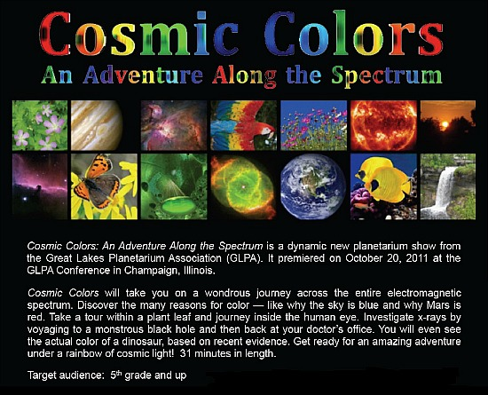 Cosmic Colors ad