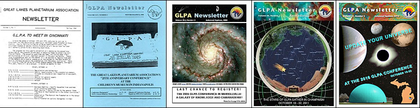 Newsletter cover evolution