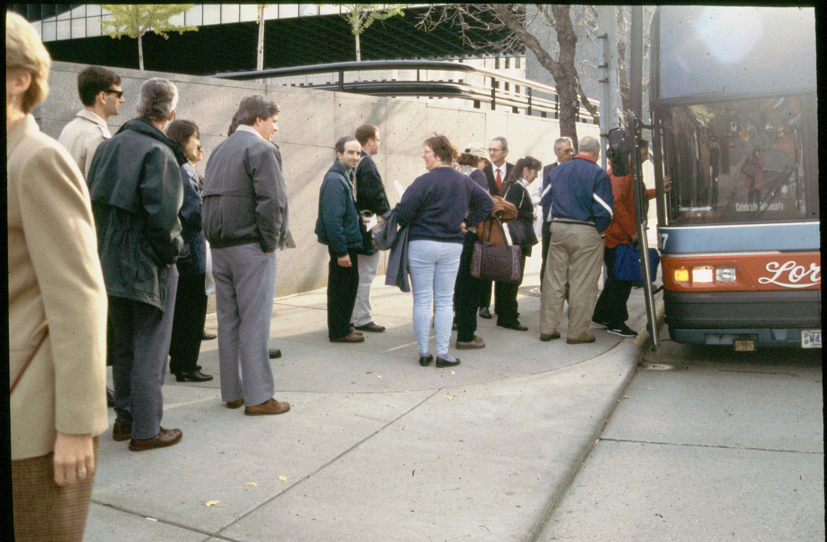 Waiting for the bus 1996